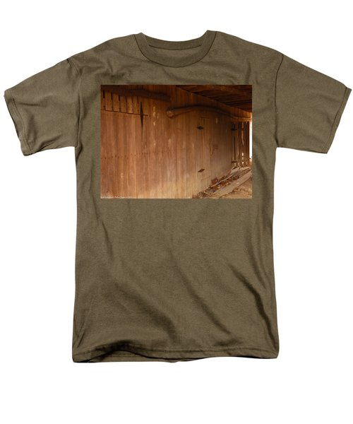 Men's T-Shirt  (Regular Fit) featuring the photograph Doors To The Past by Nick Kirby