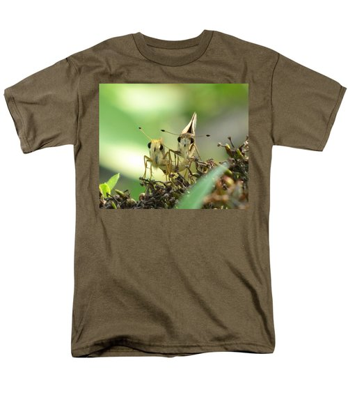 Men's T-Shirt  (Regular Fit) featuring the photograph Double Trouble by Jennifer Wheatley Wolf