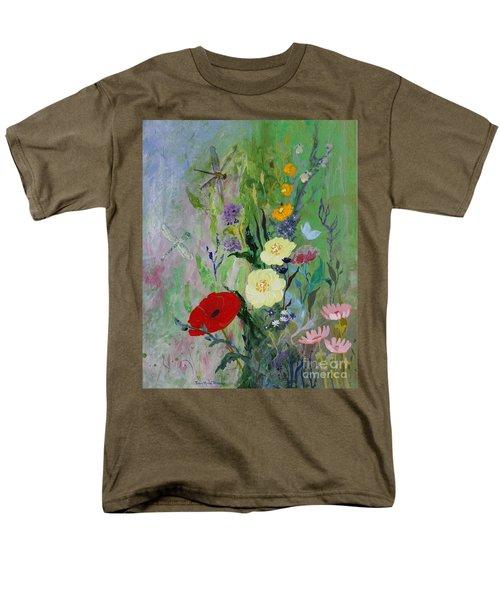 Dragonflies Dancing Men's T-Shirt  (Regular Fit) by Robin Maria Pedrero