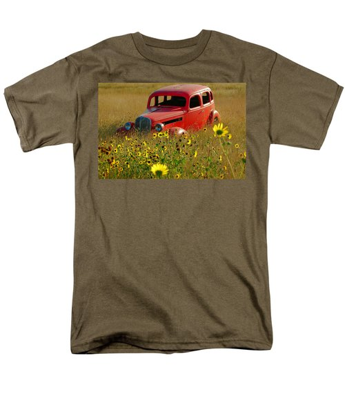 Men's T-Shirt  (Regular Fit) featuring the photograph Dream Left Behind by Leticia Latocki