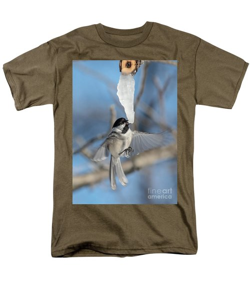 Drinking In Flight Men's T-Shirt  (Regular Fit) by Cheryl Baxter