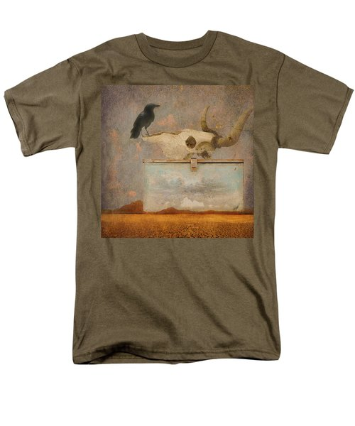 Drought And The Illusion Of Water Men's T-Shirt  (Regular Fit) by Jeff Burgess