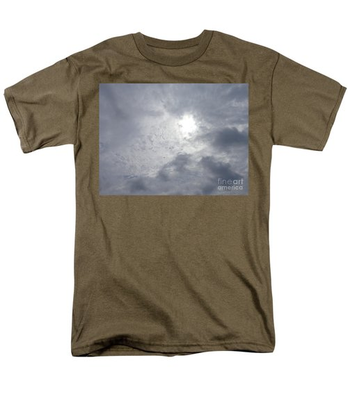 Duck In Beautiful Sky Men's T-Shirt  (Regular Fit) by Christina Verdgeline