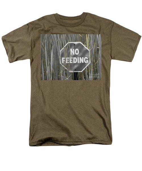 Men's T-Shirt  (Regular Fit) featuring the photograph Duck Pond by Michael Krek