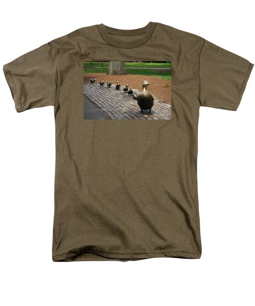 Ducklings Men's T-Shirt  (Regular Fit) by Christiane Schulze Art And Photography