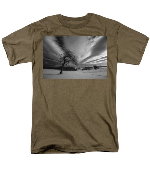 Men's T-Shirt  (Regular Fit) featuring the photograph Duel by Davorin Mance