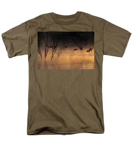 Early Morning Flight Men's T-Shirt  (Regular Fit)