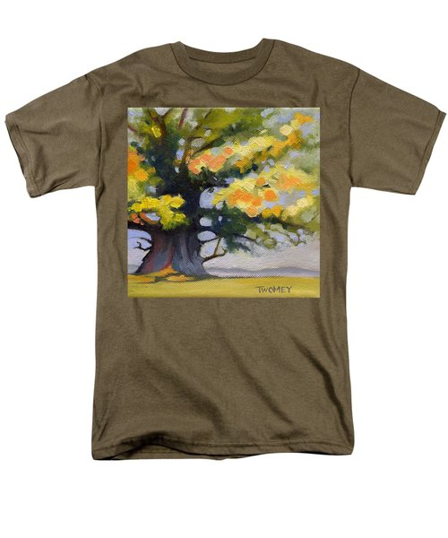 Earlysville Virginia Ancient White Oak Men's T-Shirt  (Regular Fit) by Catherine Twomey