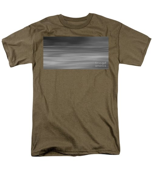 Abstract Earth Motion Slate  Men's T-Shirt  (Regular Fit) by Linsey Williams