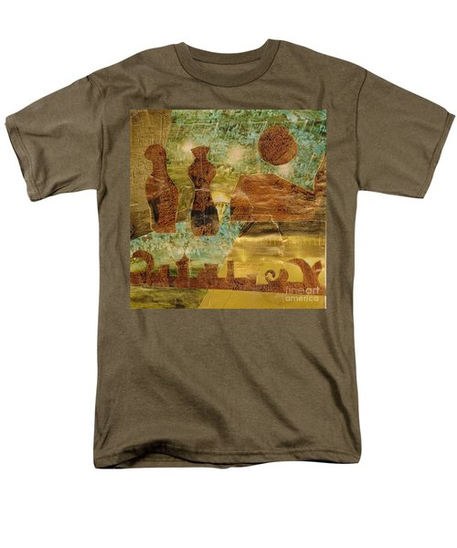 Eastern Motif Men's T-Shirt  (Regular Fit) by Patricia Cleasby
