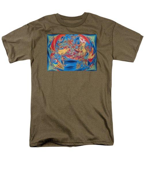 EAT Men's T-Shirt  (Regular Fit) by Robert Nickologianis