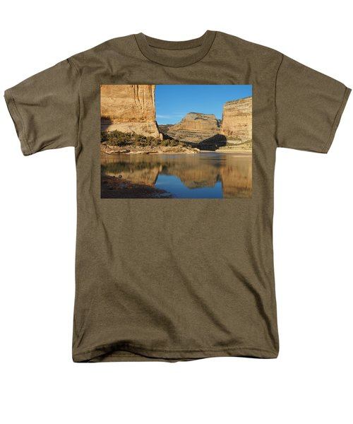 Echo Park In Dinosaur National Monument Men's T-Shirt  (Regular Fit) by Nadja Rider