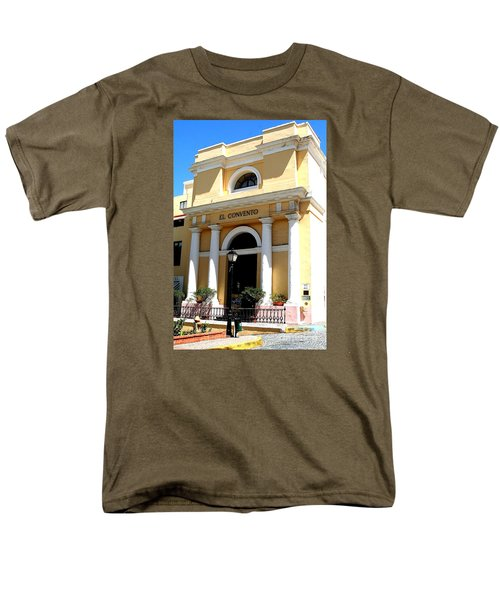 Men's T-Shirt  (Regular Fit) featuring the photograph El Convento Hotel by The Art of Alice Terrill