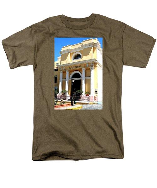 El Convento Hotel Men's T-Shirt  (Regular Fit) by The Art of Alice Terrill