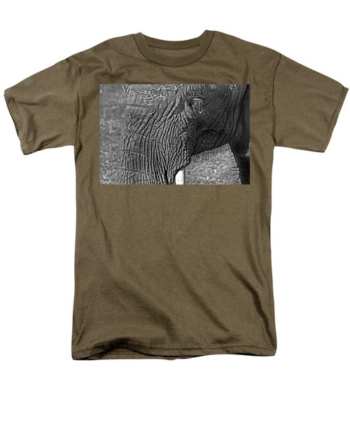 Elephant.. Dont Cry Men's T-Shirt  (Regular Fit) by Miroslava Jurcik