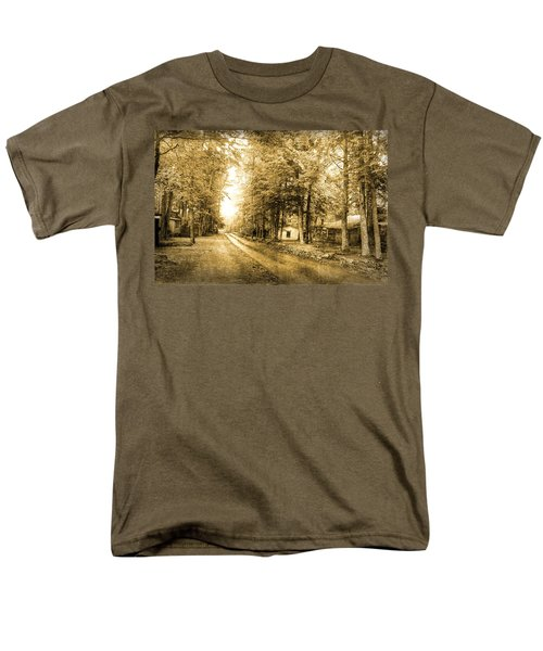 Elkmont Ghost Town Men's T-Shirt  (Regular Fit) by Michael Eingle