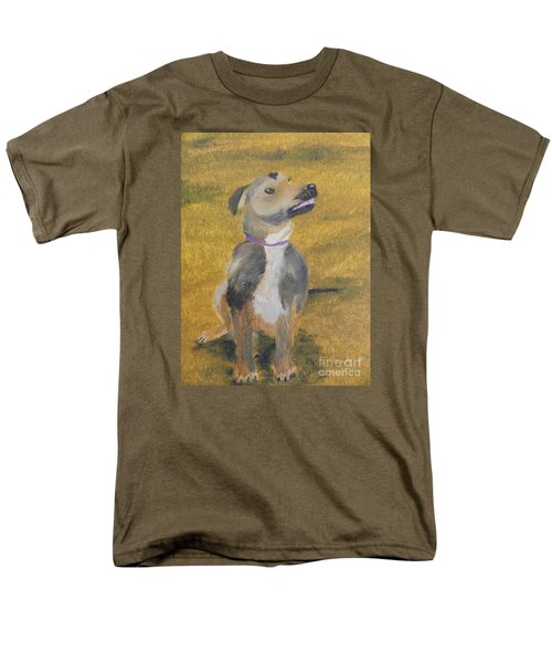 Men's T-Shirt  (Regular Fit) featuring the painting Ella by Pamela  Meredith