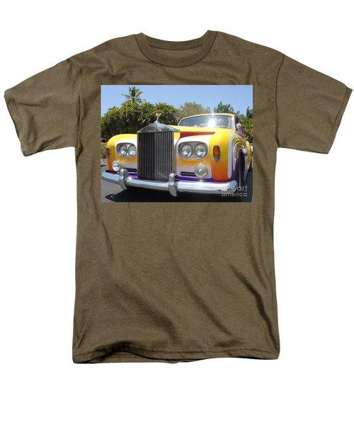 Elton John's Old Rolls Royce Men's T-Shirt  (Regular Fit) by Barbie Corbett-Newmin
