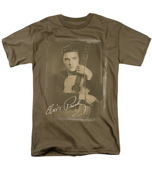 Elvis - Guitar Man Men's T-Shirt  (Regular Fit) by Brand A