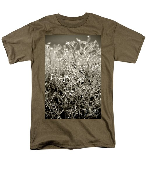 Encased In Ice IIi Men's T-Shirt  (Regular Fit) by Bonnie Myszka