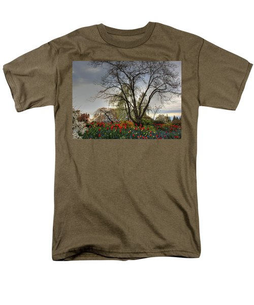 Men's T-Shirt  (Regular Fit) featuring the photograph Enchanted Garden by Eti Reid