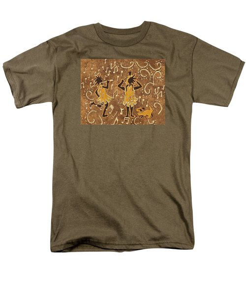 Enjoying The Music Men's T-Shirt  (Regular Fit) by Katherine Young-Beck