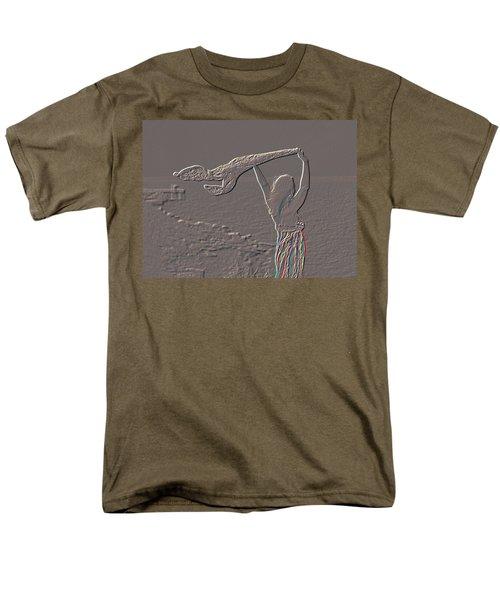 Enjoying The Ocean Breeze Men's T-Shirt  (Regular Fit) by Leticia Latocki
