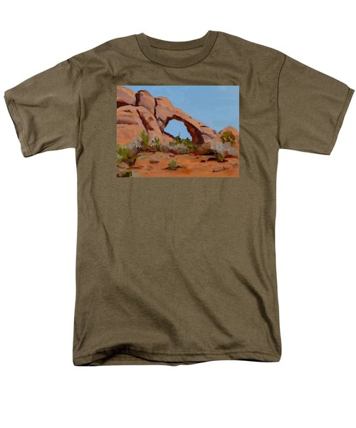 Men's T-Shirt  (Regular Fit) featuring the painting Erosion by Pattie Wall