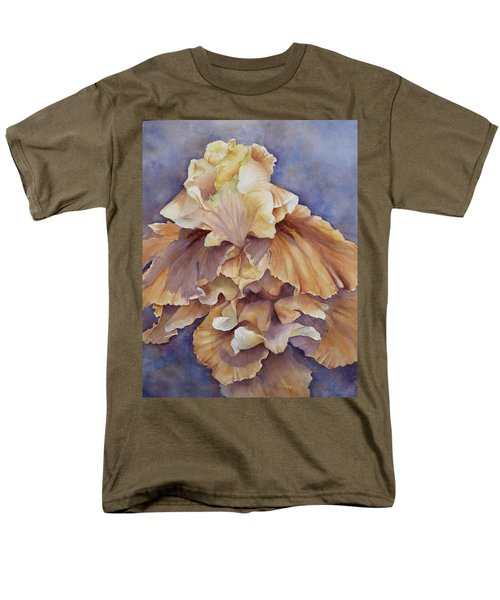 Eruption II--flower Of Rebirth Men's T-Shirt  (Regular Fit)