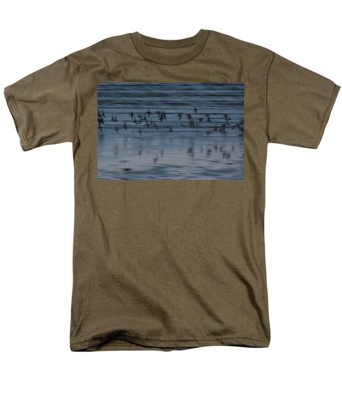 Men's T-Shirt  (Regular Fit) featuring the photograph Evening Abstract by Alex Lapidus