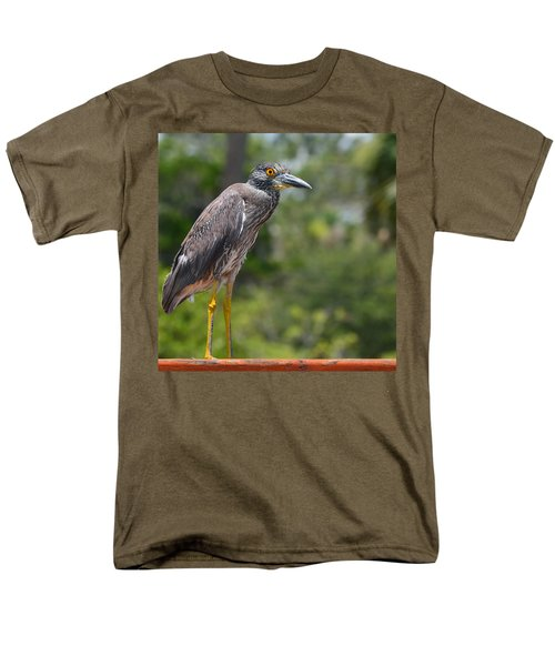 Men's T-Shirt  (Regular Fit) featuring the photograph Eye To Lens by DigiArt Diaries by Vicky B Fuller