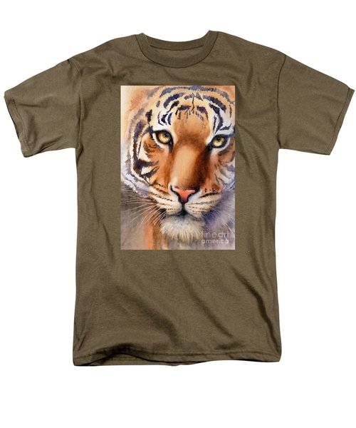 Eyes Of The Tiger Men's T-Shirt  (Regular Fit) by Bonnie Rinier