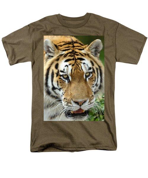 Men's T-Shirt  (Regular Fit) featuring the photograph Eyes Of The Tiger by John Haldane