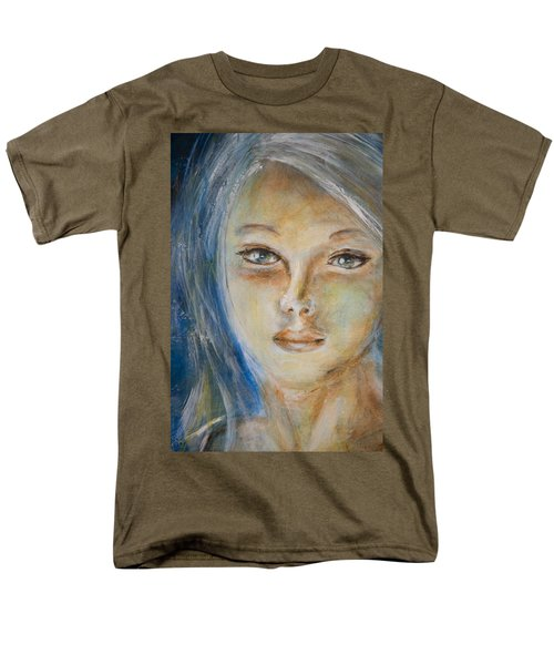 Face Of An Angel Men's T-Shirt  (Regular Fit) by Nik Helbig