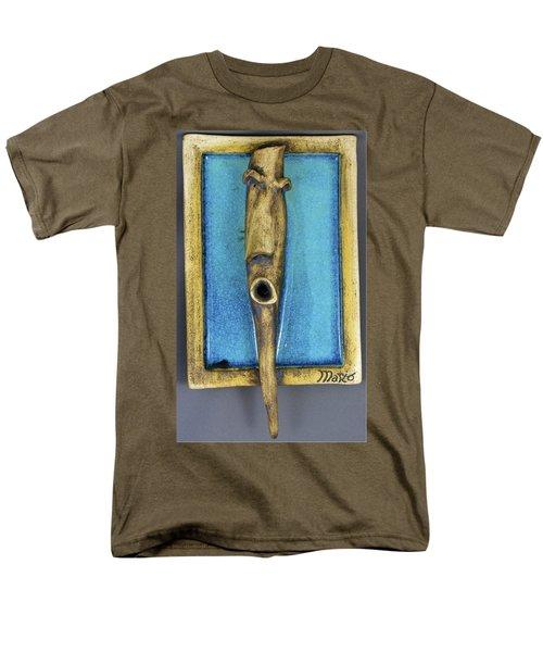 Faces #5 Men's T-Shirt  (Regular Fit) by Mario Perron