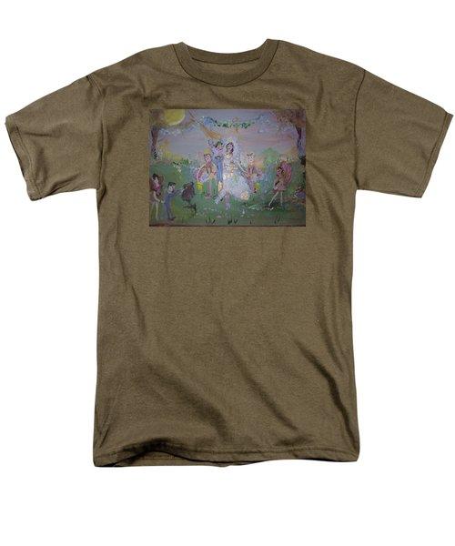 Fairy Wedding Men's T-Shirt  (Regular Fit) by Judith Desrosiers