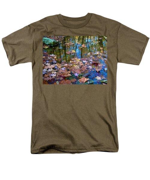 Fall Creek Men's T-Shirt  (Regular Fit) by Pamela Clements