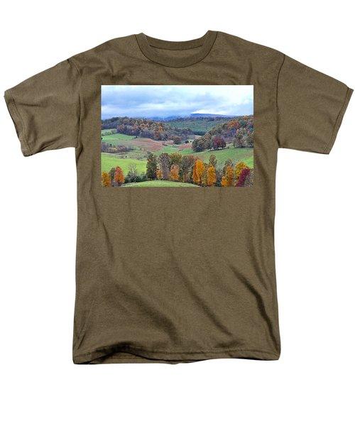 Fall In Virginia Men's T-Shirt  (Regular Fit) by Denise Romano