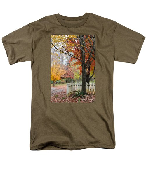 Fall Tranquility Men's T-Shirt  (Regular Fit) by Debbie Green