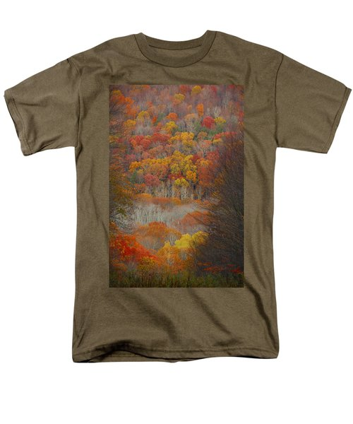 Men's T-Shirt  (Regular Fit) featuring the photograph Fall Tunnel by Raymond Salani III