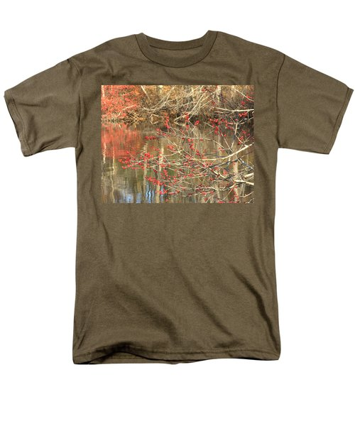 Fall Upon The Water Men's T-Shirt  (Regular Fit) by Bruce Carpenter