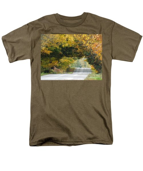 Falls Archway  Men's T-Shirt  (Regular Fit) by Brenda Brown