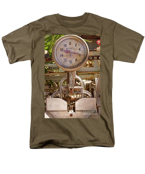 Men's T-Shirt  (Regular Fit) featuring the photograph Farm Scale by Kerri Mortenson