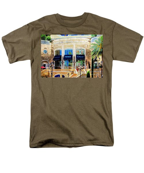 Fashion Vegas Style Men's T-Shirt  (Regular Fit) by Barbara Chichester