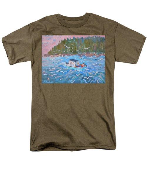 Feeding The Flock Men's T-Shirt  (Regular Fit)