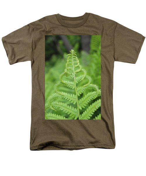 Fern Men's T-Shirt  (Regular Fit) by Tiffany Erdman