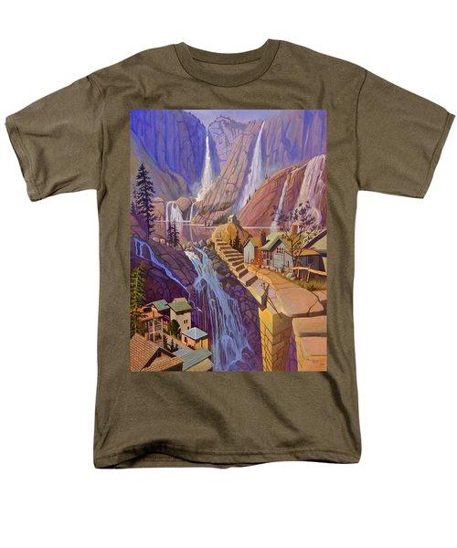 Fibonacci Stairs Men's T-Shirt  (Regular Fit) by Art James West