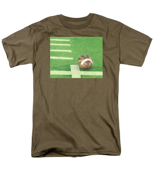 First Down Men's T-Shirt  (Regular Fit) by Troy Levesque