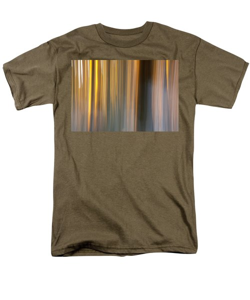 Men's T-Shirt  (Regular Fit) featuring the photograph First Snow In Sunset by Davorin Mance