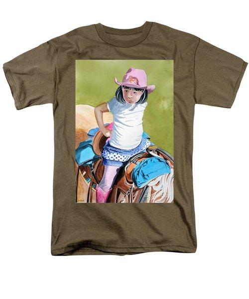 First Time Men's T-Shirt  (Regular Fit) by Debbie Hart